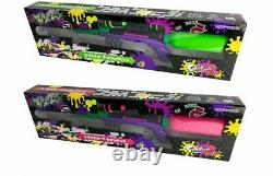 Splaton 2 Splaterscope Water Guns Green & Pink 2 Set Nintendo Japonais Japon