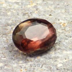 Sunstone De L'école De Grand Pink Oregon 4,15ct Flawless-perfect Copper Schiller-rare