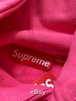 Supreme Box Logo Hoodie 17fw Box Logo Vert Taille XL Rose