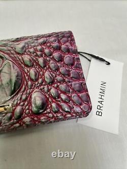 T.n.-o. Rare Brahmin Melbourne Ady Wallet Julep Rose Violet Vert