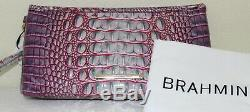 Tn-o Brahmane Kayla Julep (rose-vert) Melbourne En Cuir Bracelet / Embrayage