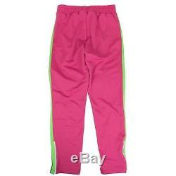 Tn-o Palm Anges Rose Fuchsia Et Vert Pantalon Téméraire Track Taille XL 485 $