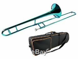 Trombone Or Argent Nickel Rouge Rose Vert Vert Noir Bleu Blanc Bronze Pourpre