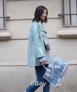 Vente Spéciale! Tn-o Chanel New Coco Splash Pvc / Cuir Rose / Vert / Bleu Fourre-tout