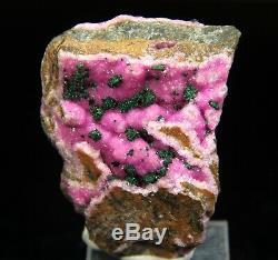 Vert Forte Kolwezite Pink Cobaltoan Calcite, Mashamba, Congo! Ca149