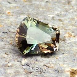 Vert-bleu-rose Dichroique Oregon Sunstone 1.37ct Impeccable-rare Pour Top Joaillerie