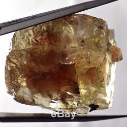 Vert-rose Schiller Oregon Sunstone 91.98ct Grand Polyédrique Brute Semi Facettes Grade