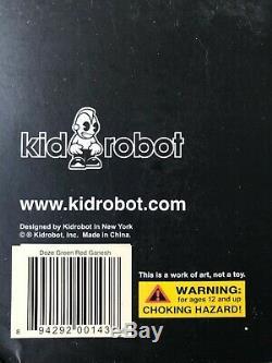 Vintage Doze Vert Kidrobot Rose Rouge Ganesh Art Vinyl Figure 2006 Graffiti Rare