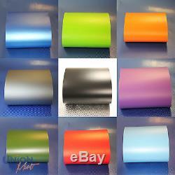 Vinyle Mat / Mat Transparent Sans Bulle Noir Blanc Rouge Rose Bleu Vert Argent