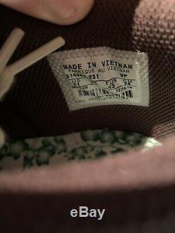 Womens 2006 Nike Dunk Low Premium Birch Vert Sz 11 Cinder Marron Bleu Rose Nouveau